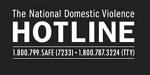 National Domestic Violence Hotline badge