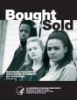 Three teens on cover of Bought & Sold